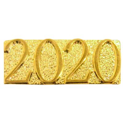 Gold 2020 Chenille Bar Pin