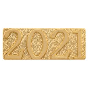 Gold 2021 Chenille Bar Pin
