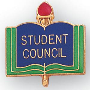 Student Council Academic Award Pin