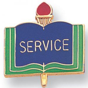 Service Award Pin