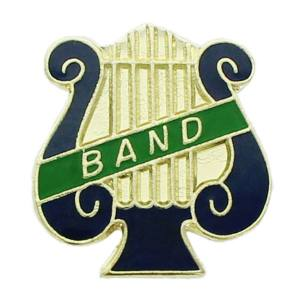 Band Lyre Award Pin