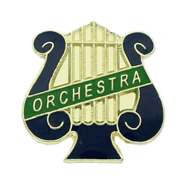 Orchestra Lyre Award Pin