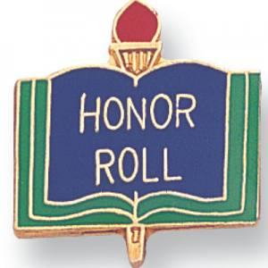 Honor Roll Award Award Pin