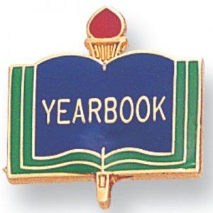Yearbook Academic Award Pin