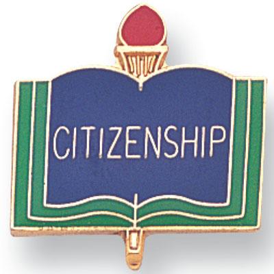 Citizenship Academic Award Pin