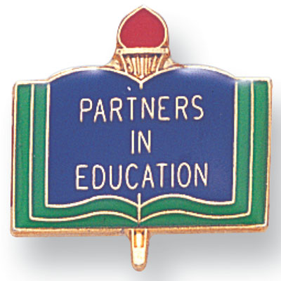 Partners in Education Academic Award Pin