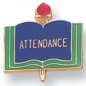 Attendance Award Pin