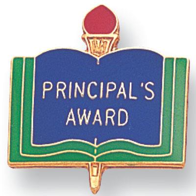 Principal Award Academic Award Pin