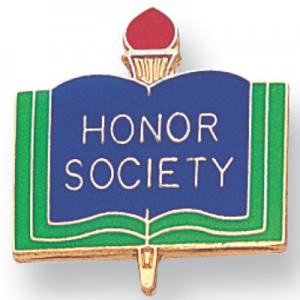 Honor Society Award Pin