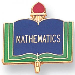 Mathematics Award Pin