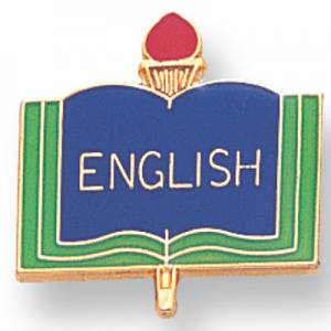 English Academic Award Pin