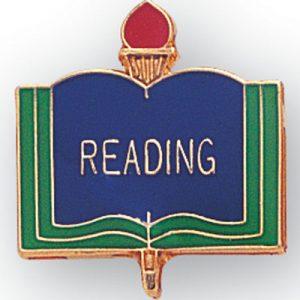 Reading Award Pin