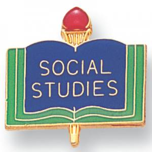 Social Studies Academic Award Pin