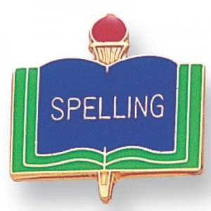 Spelling Academic Award Pin