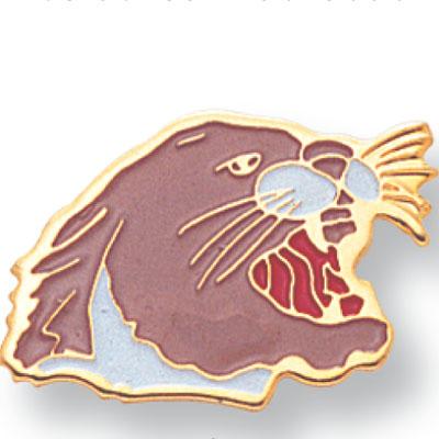 Cougar Mascot Award Pin