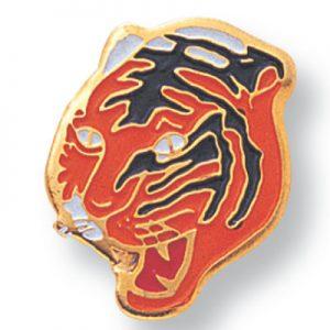 Tiger Mascot Award Pin