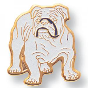 Bulldog Mascot Award Pin