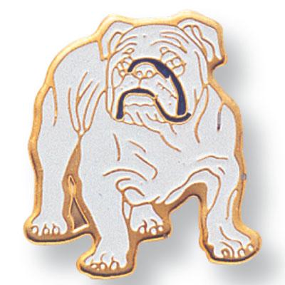 Bulldog Mascot Award Pin