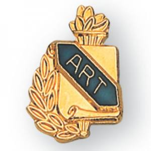 Art Scroll Award Pin