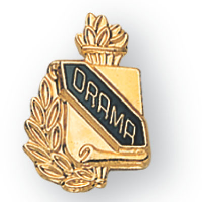 Drama Scroll Award Pin