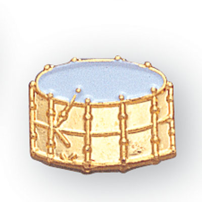 Drum Award Pin