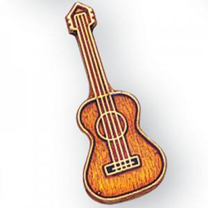 Guitar Award Pin