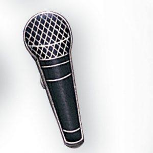Microphone Award Pin