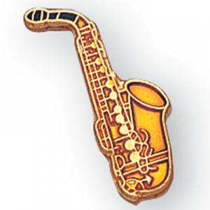 Saxophone Award Pin