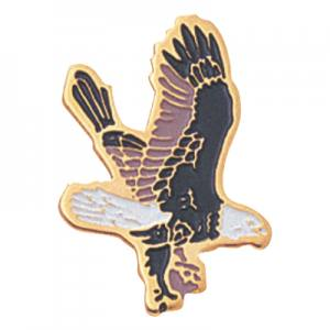 Falcon Mascot Award Pin