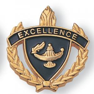 Excellence Scholastic Award Pins
