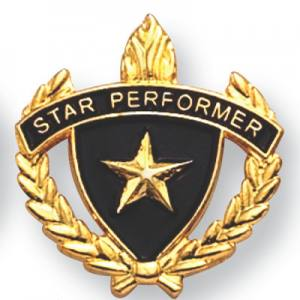 Star Performer Scholastic Award Pins