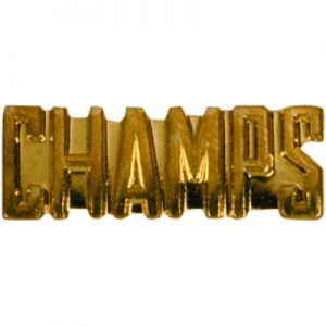 Champs Bar Chenille Pin