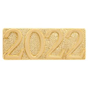 Gold 2022 Chenille Bar Pin
